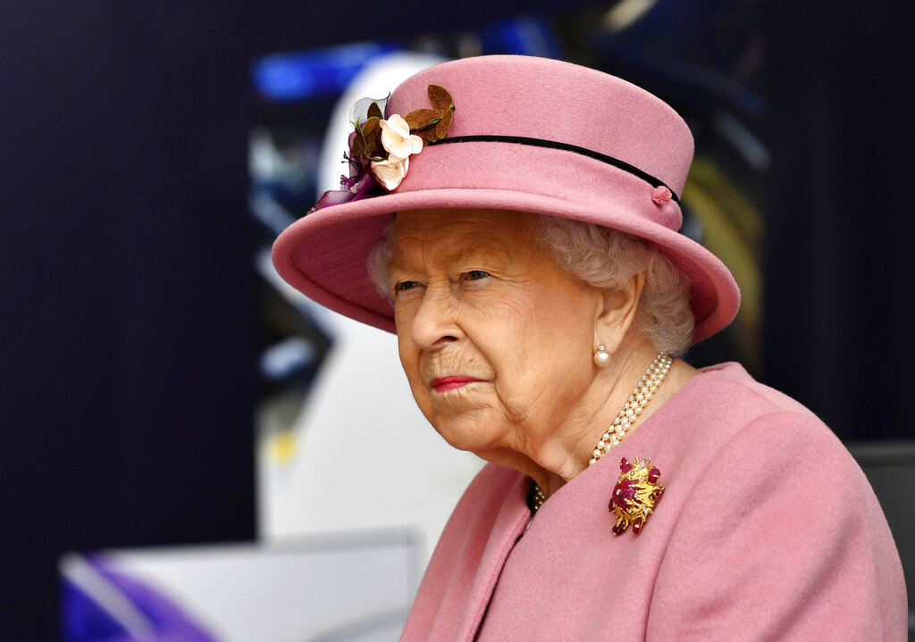 Queen Elizabeth honors 9/11 victims as UK marks 20th anniversary