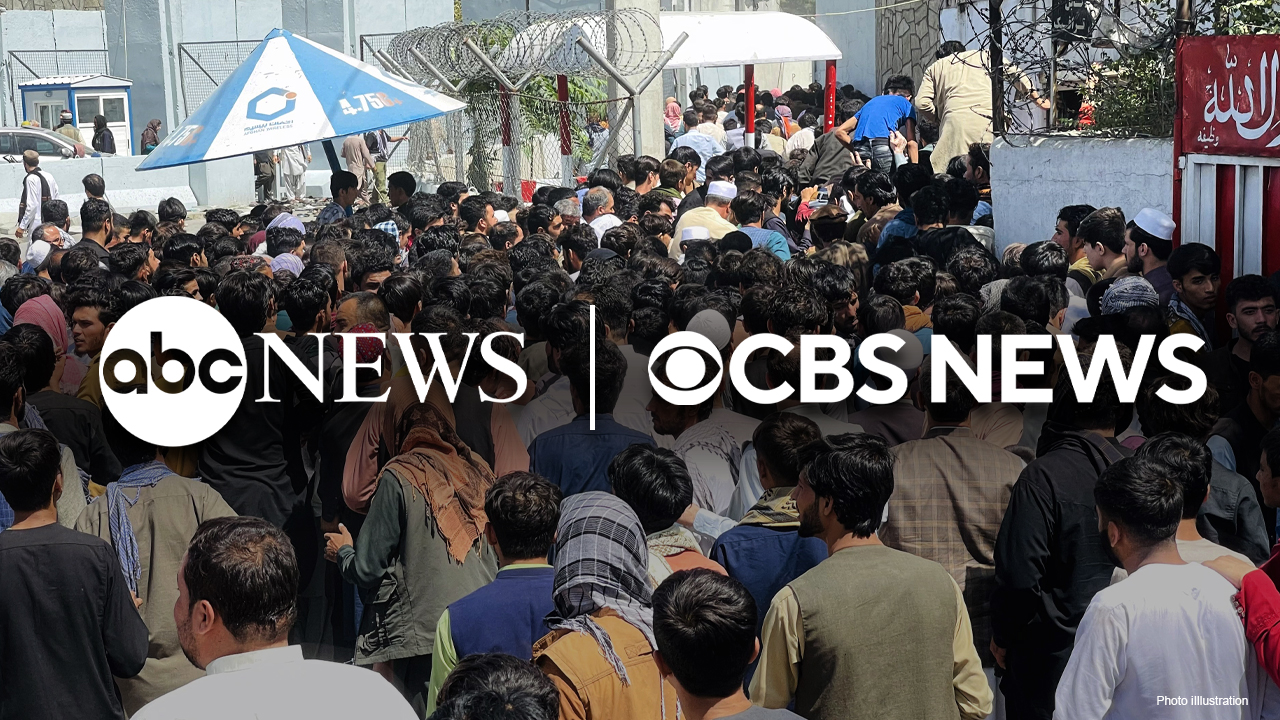 ABC and CBS nightly newscasts once again skip covering Americans trapped in Afghanistan
