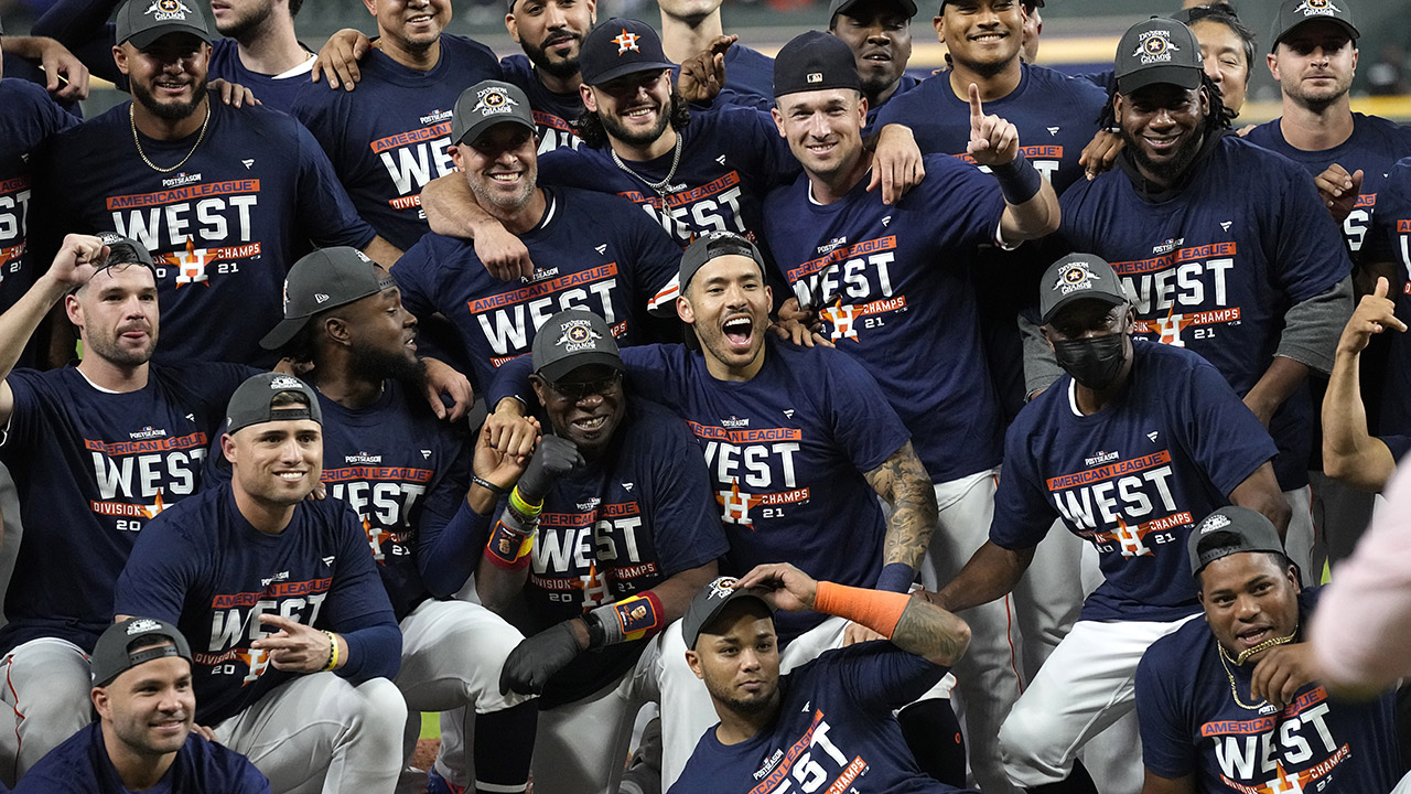 Correa, Astros clinch AL West, open playoffs vs White Sox ...