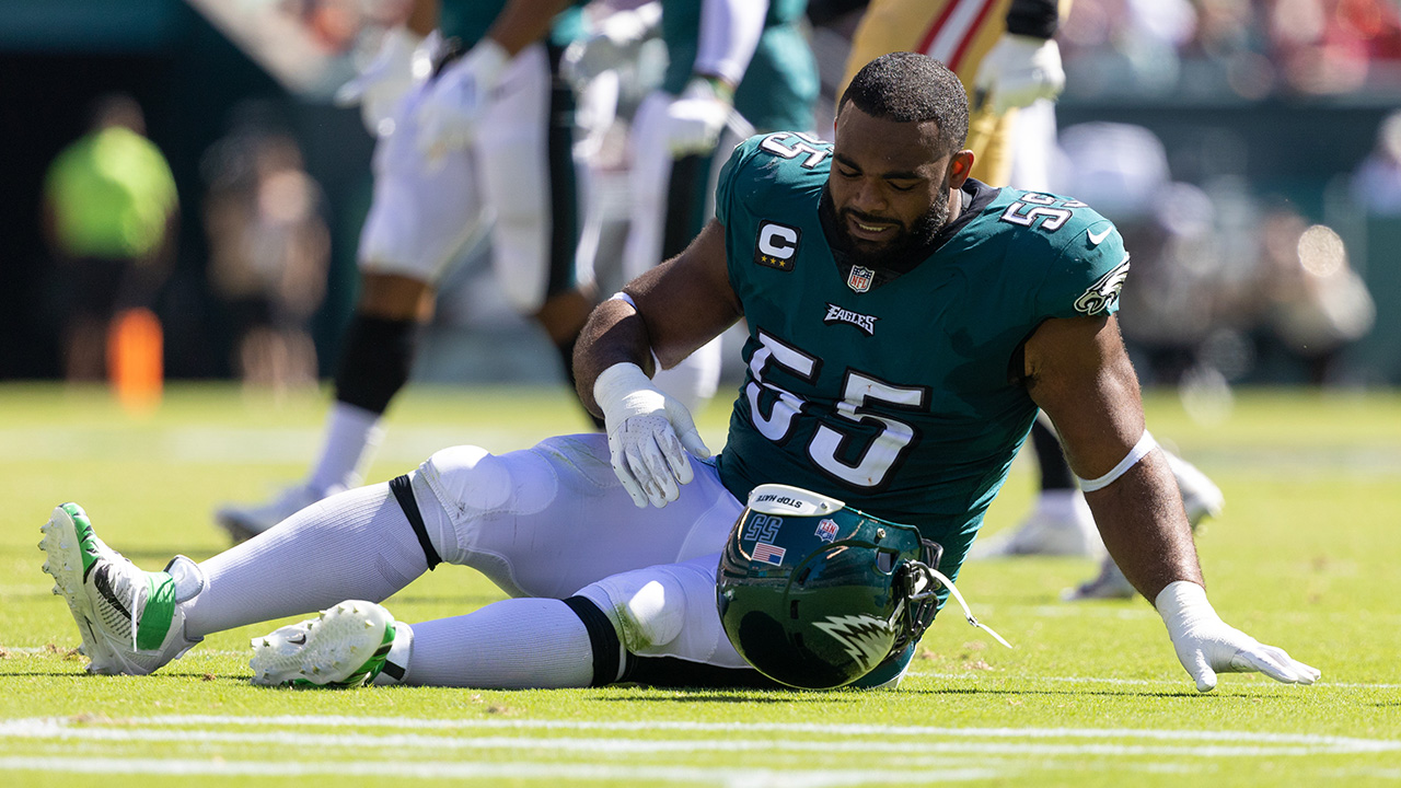 Eagles' Brandon Graham will be 'leading from the sidelines' after injury costs him season