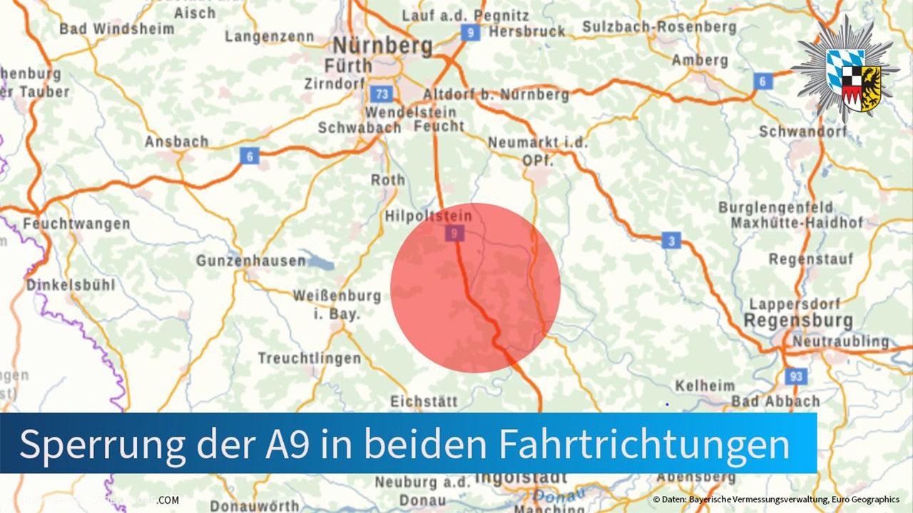 German highway on lockdown after armed bus passenger takes drivers hostage: police