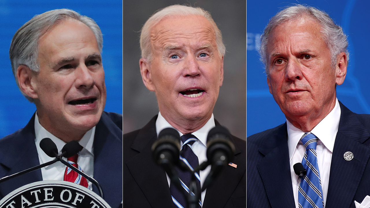 Governor promises to fight Biden to 'gates of hell' as GOP states mount vaccine mandate defense