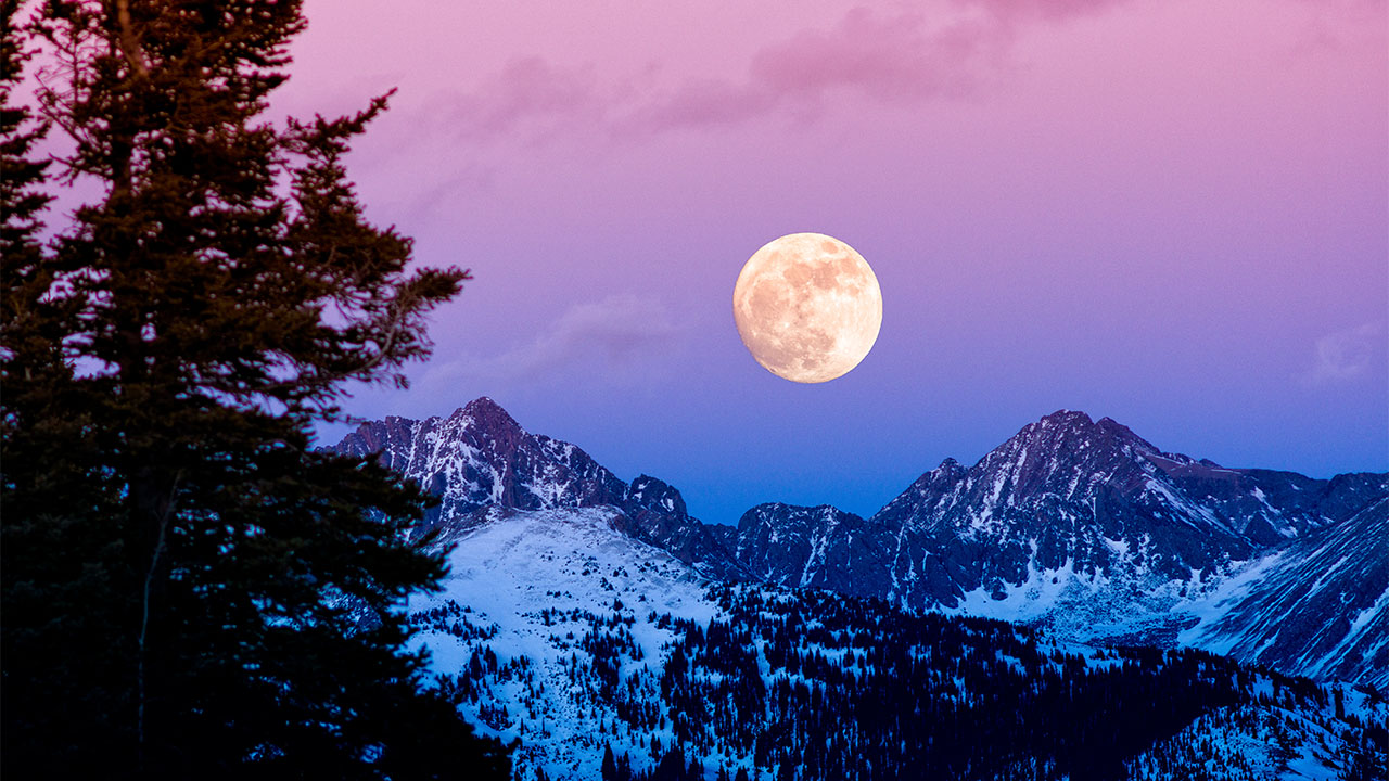 How to see the harvest moon
