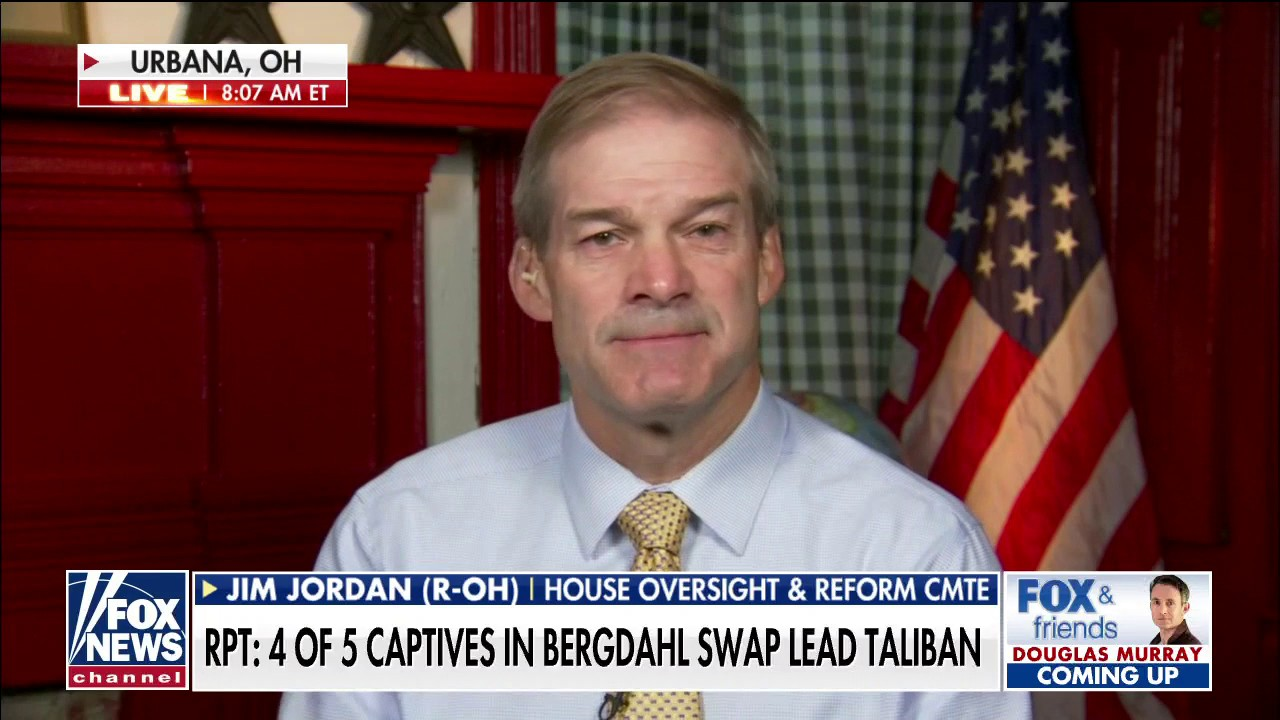 Jim Jordan: 'Not surprising' 4 prisoners Obama exchanged for Bergdahl now in senior Taliban posts