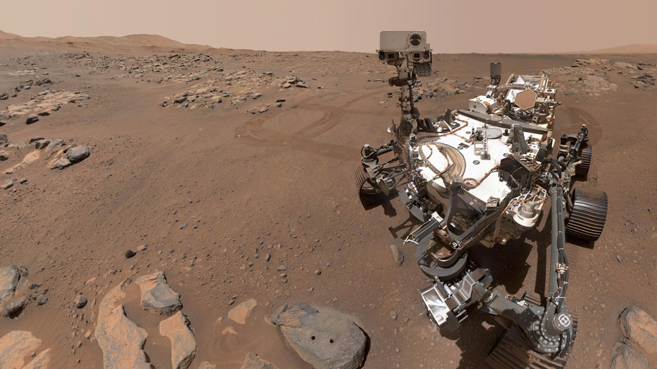 Mars images show Perseverance rover at work - Fox News