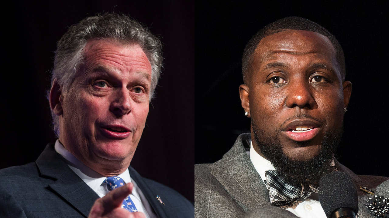 Virginia election: McAuliffe appears on video with disgraced official who called for defunding police