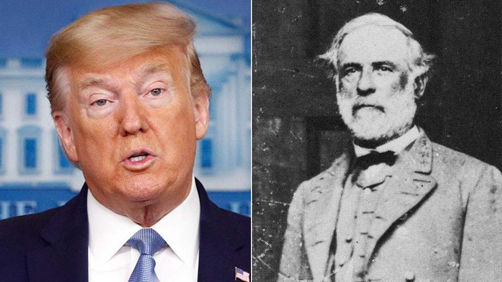 Trump deplores removal of Richmond's Robert E. Lee statue