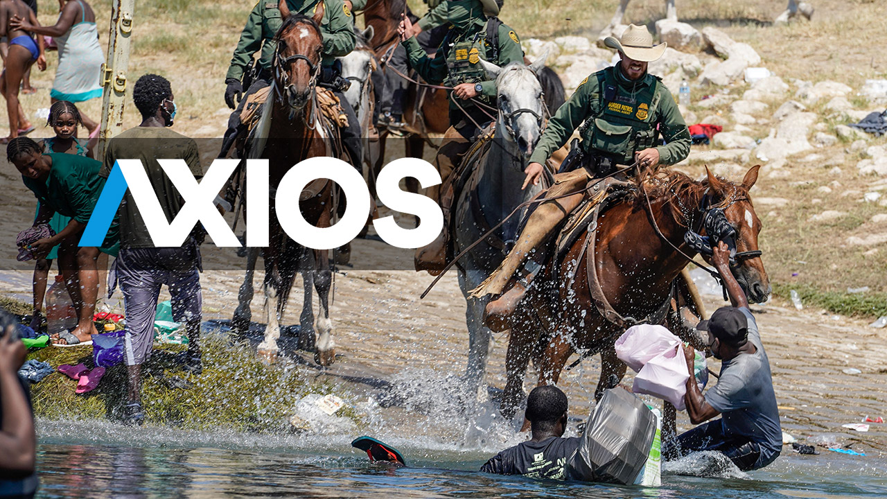Axios ripped after deleting tweet accusing border agents of 'whipping at' Haitian migrants - Fox News