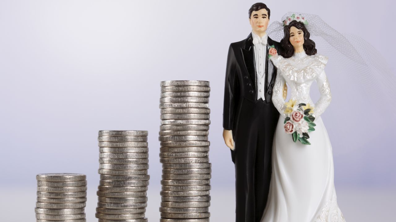 More than half of Americans disagree with invoicing wedding guests for no-shows