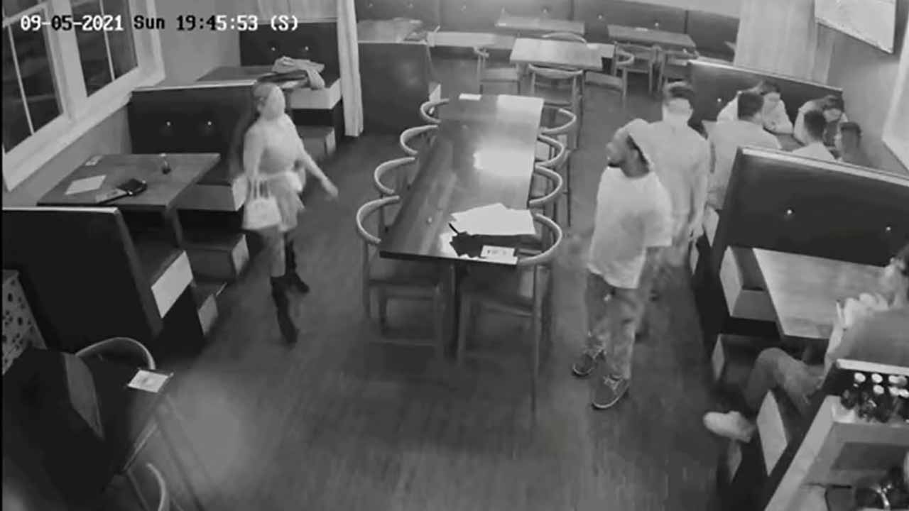 California police release video of dine and dash suspects who allegedly shot at restaurant worker