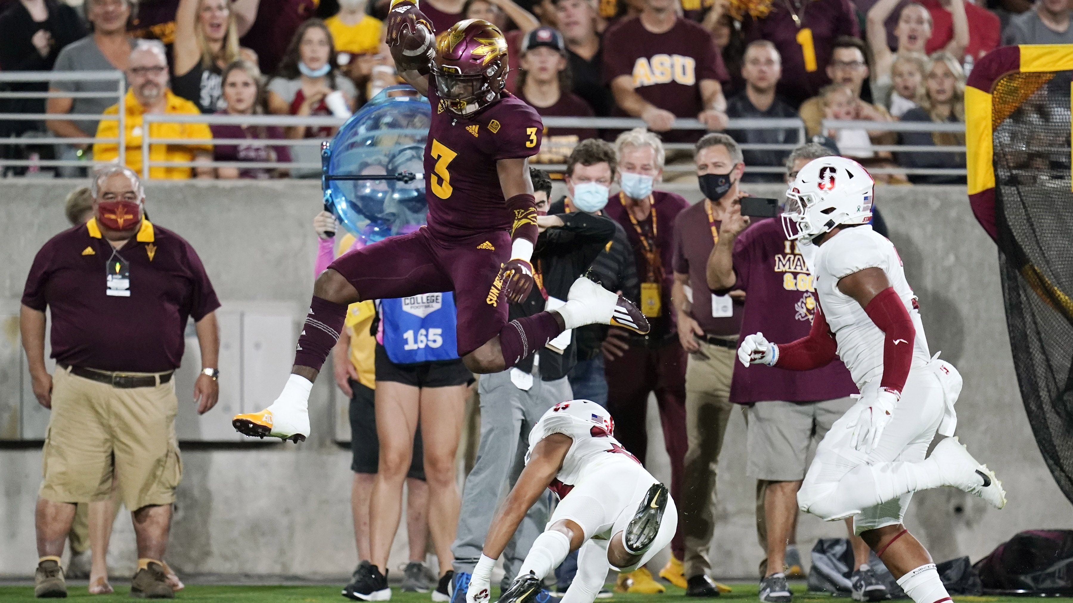 No. 22 Arizona State powers past Stanford for 28-10 win