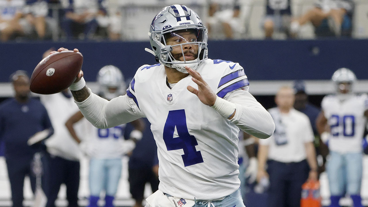 Prescott, Cowboys beat Giants 44-20 year after ankle injury