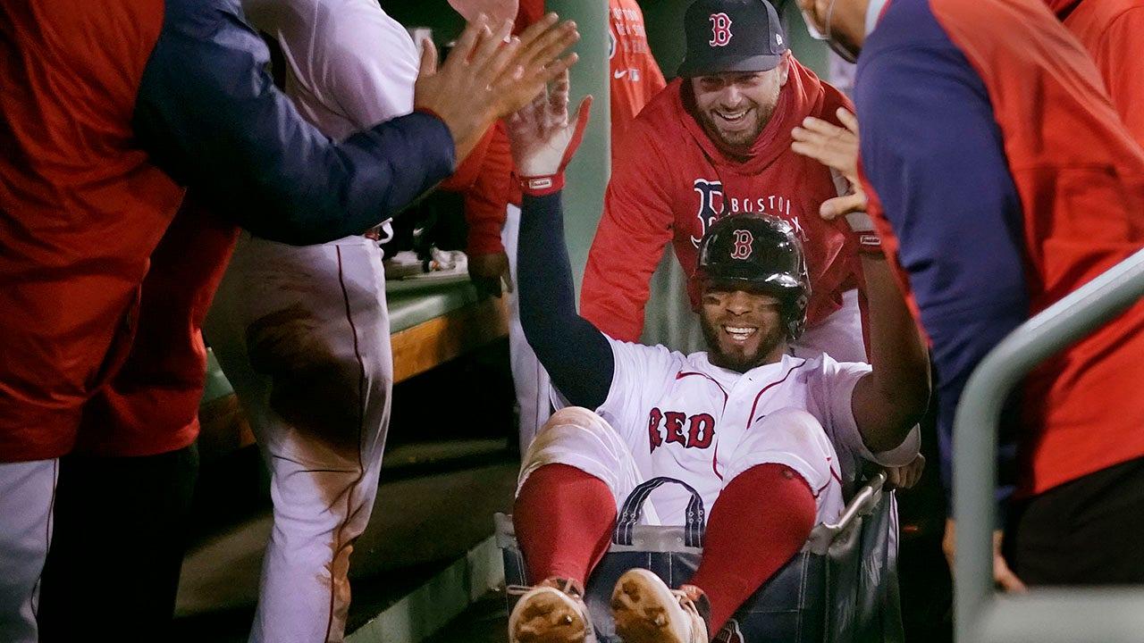 Red Sox đi xe về nhà chạy xe giặt đến ALCS chống lại Astros