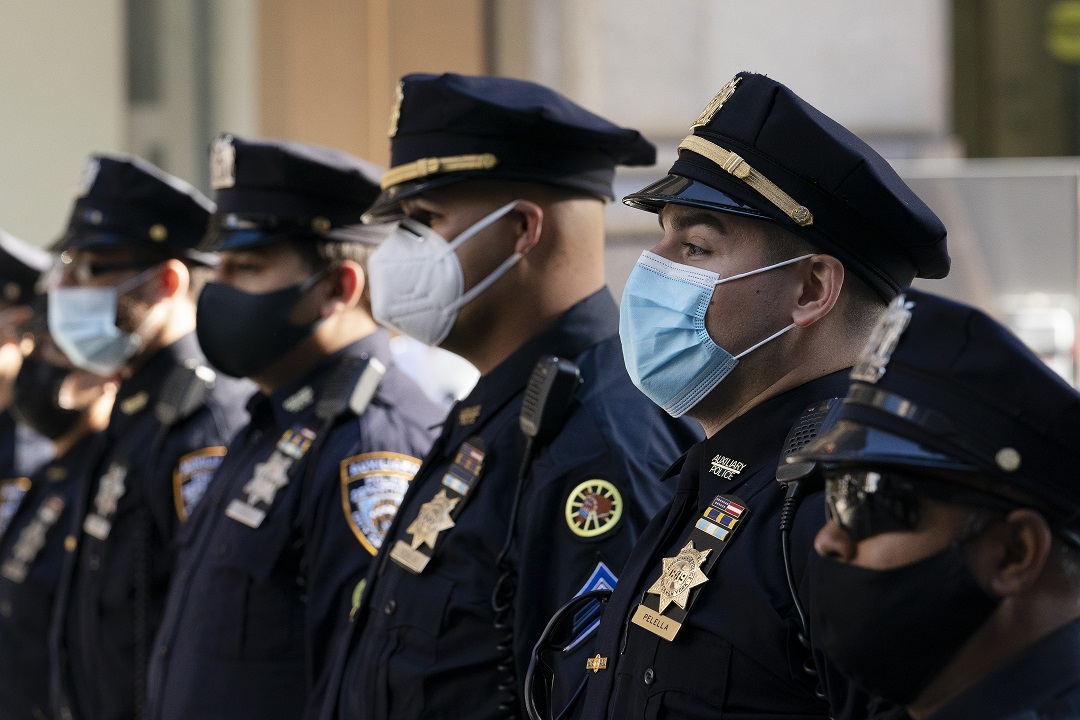 NYC police union sues city over vaccine mandate
