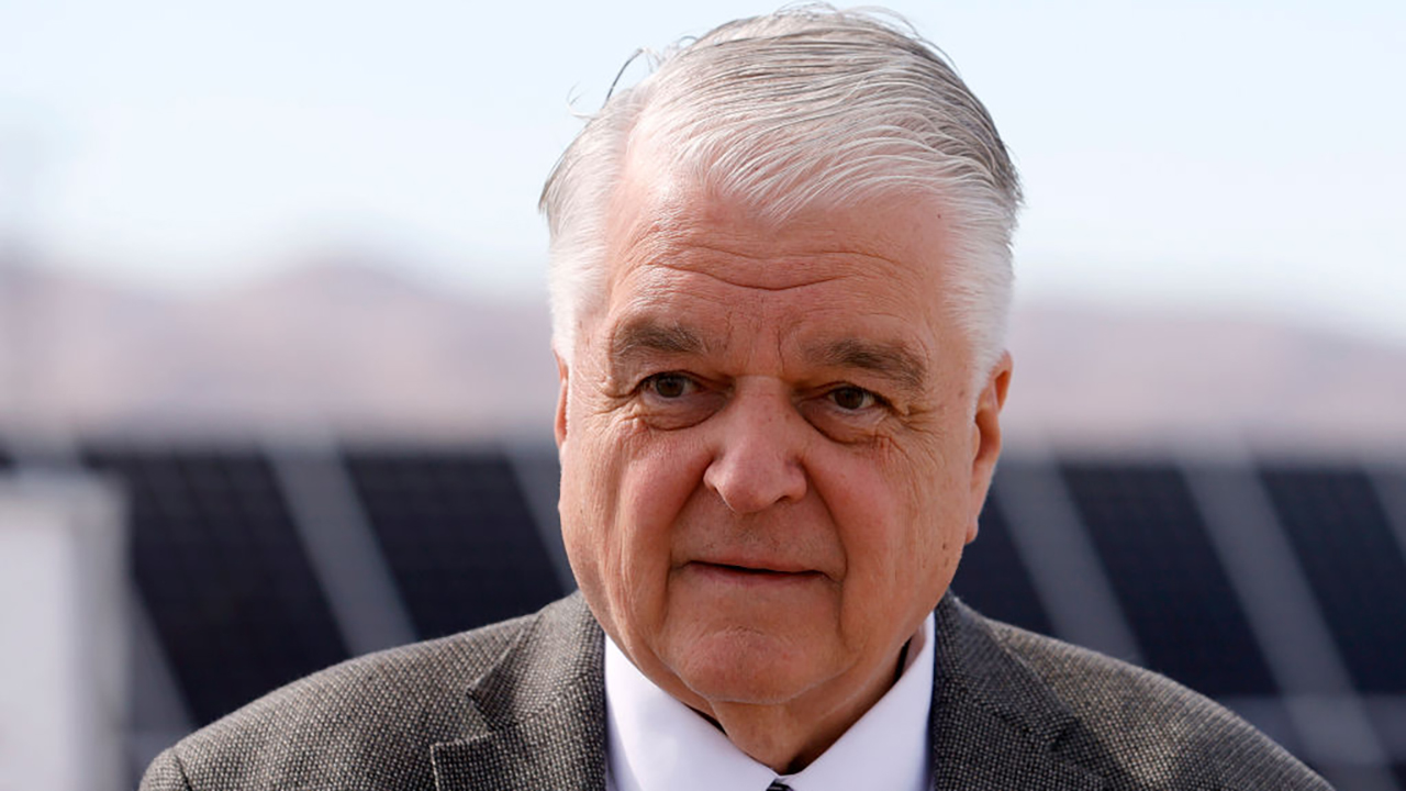 Nevada's Sisolak suffers injuries in car accident