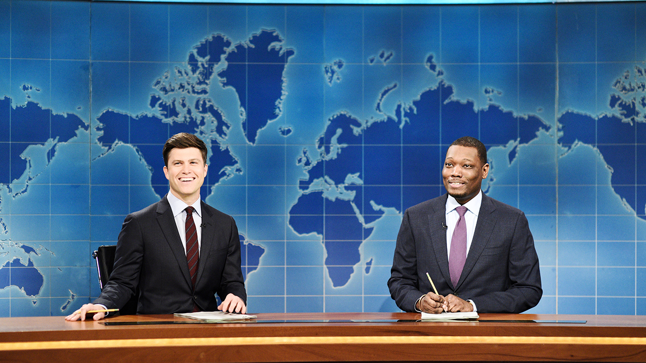 'SNL' Weekend Update takes on budget bill, vaccine mandates, COVID origins — and other political footballs