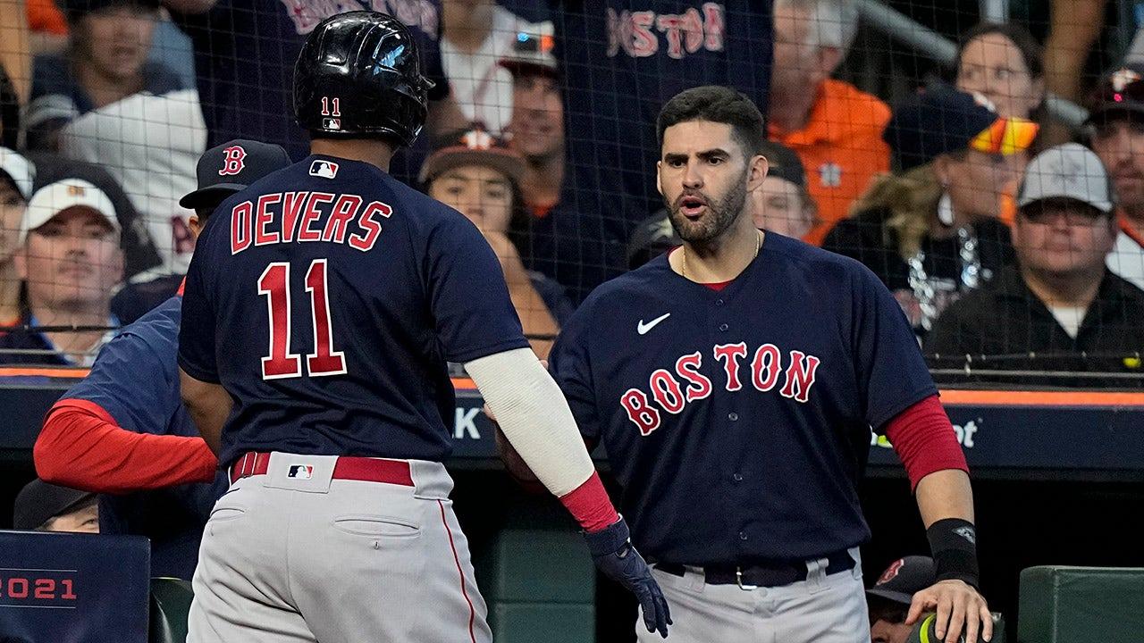 Pair of Red Sox slams make for grand Game 2 in Boston's win https://static.foxnews.com/foxnews.com/content/uploads/2021/10/JD-Martinez3.jpg