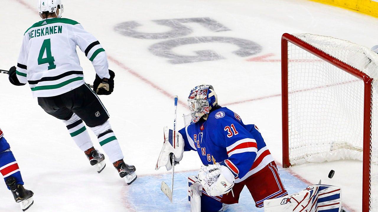 Stars edge Rangers 3-2 on Heiskanen's goal in OT