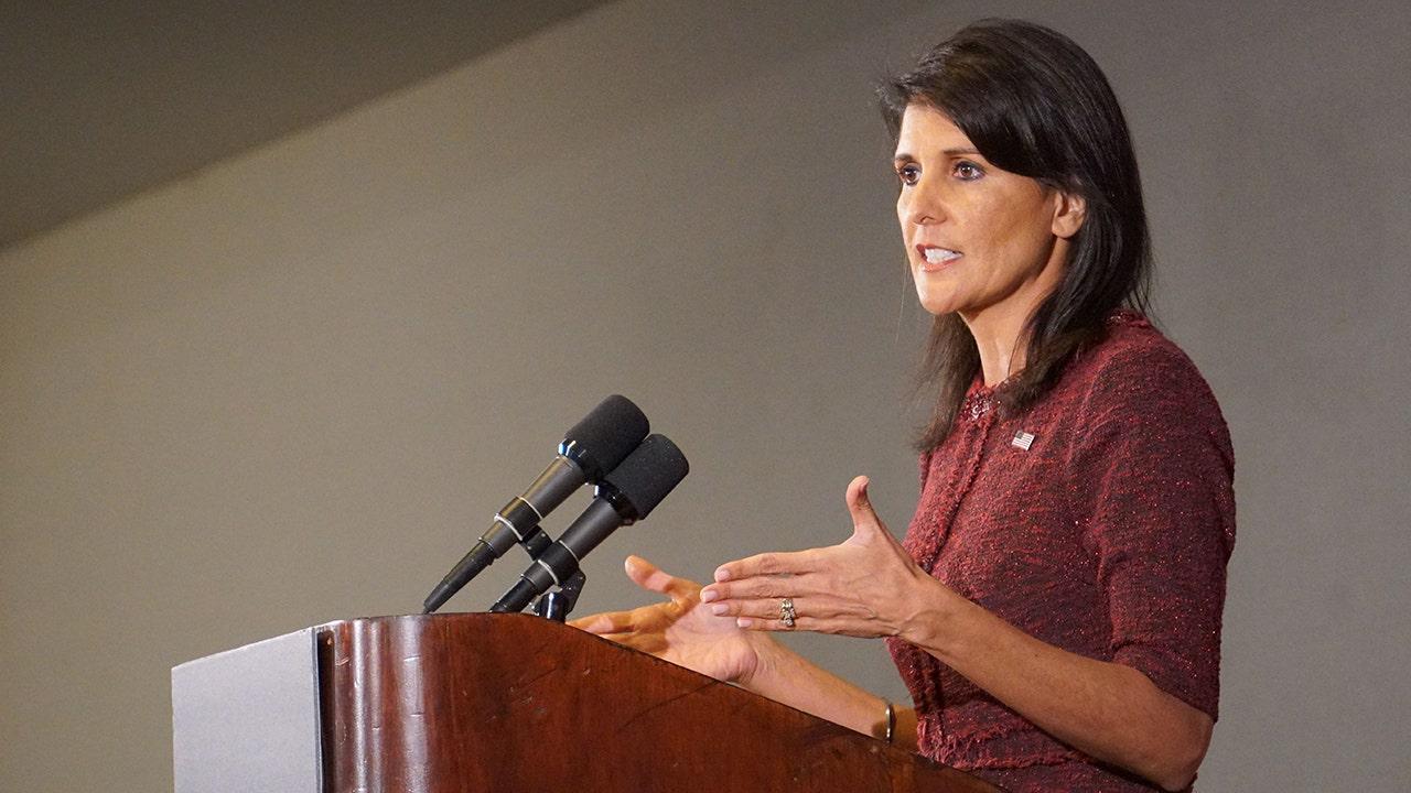 Haley slams 'dangerous' Biden move to re-enter UN Human Rights Council 'cesspool'