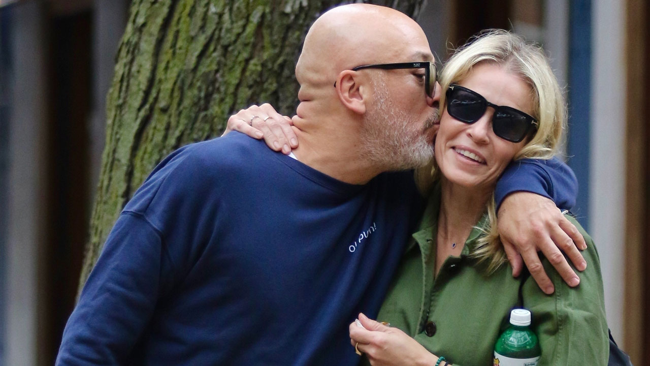 Chelsea Handler and boyfriend Jo Koy are all loved up during NYC stroll