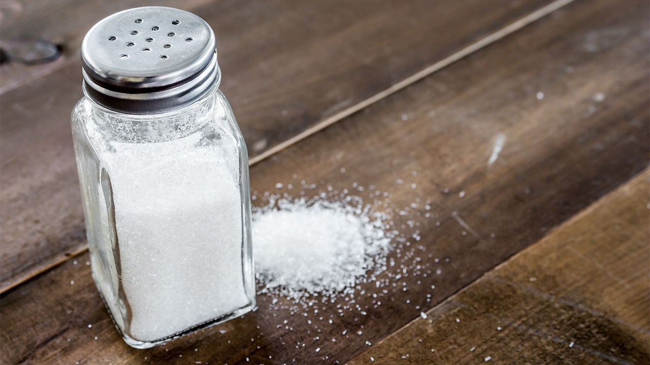 How to maintain lower sodium intake