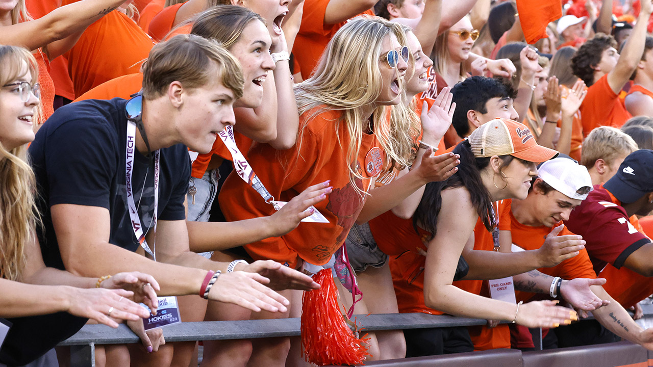 Virginia Tech to restrict 'selfish, inappropriate, and embarrassing student behavior' at football games