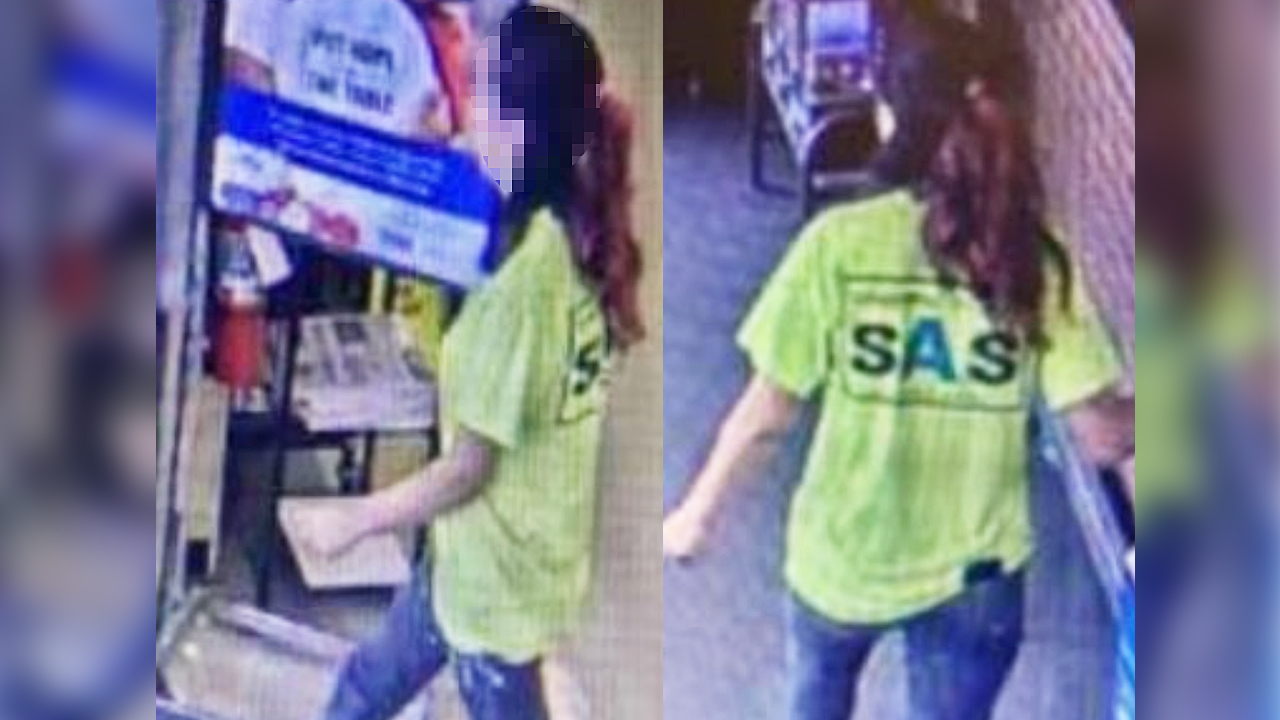 South Carolina woman hands cashier a note that says a man is 'going to hurt her,' is found safe by police