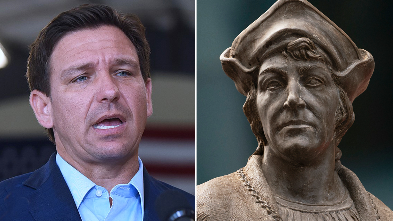 DeSantis Columbus Day proclamation pushes back against those who 'defame' the explorer