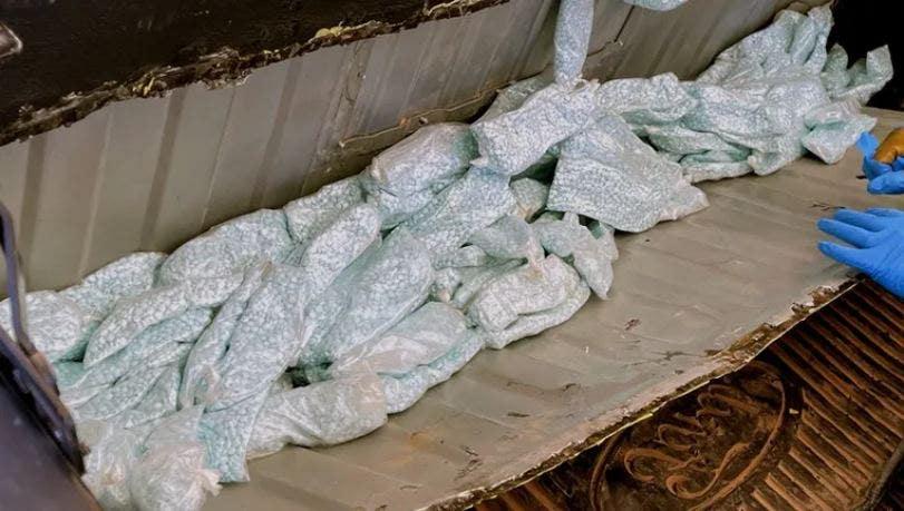 Arizona Border Patrol agents seize over 50 pounds of fentanyl hidden under truck bed
