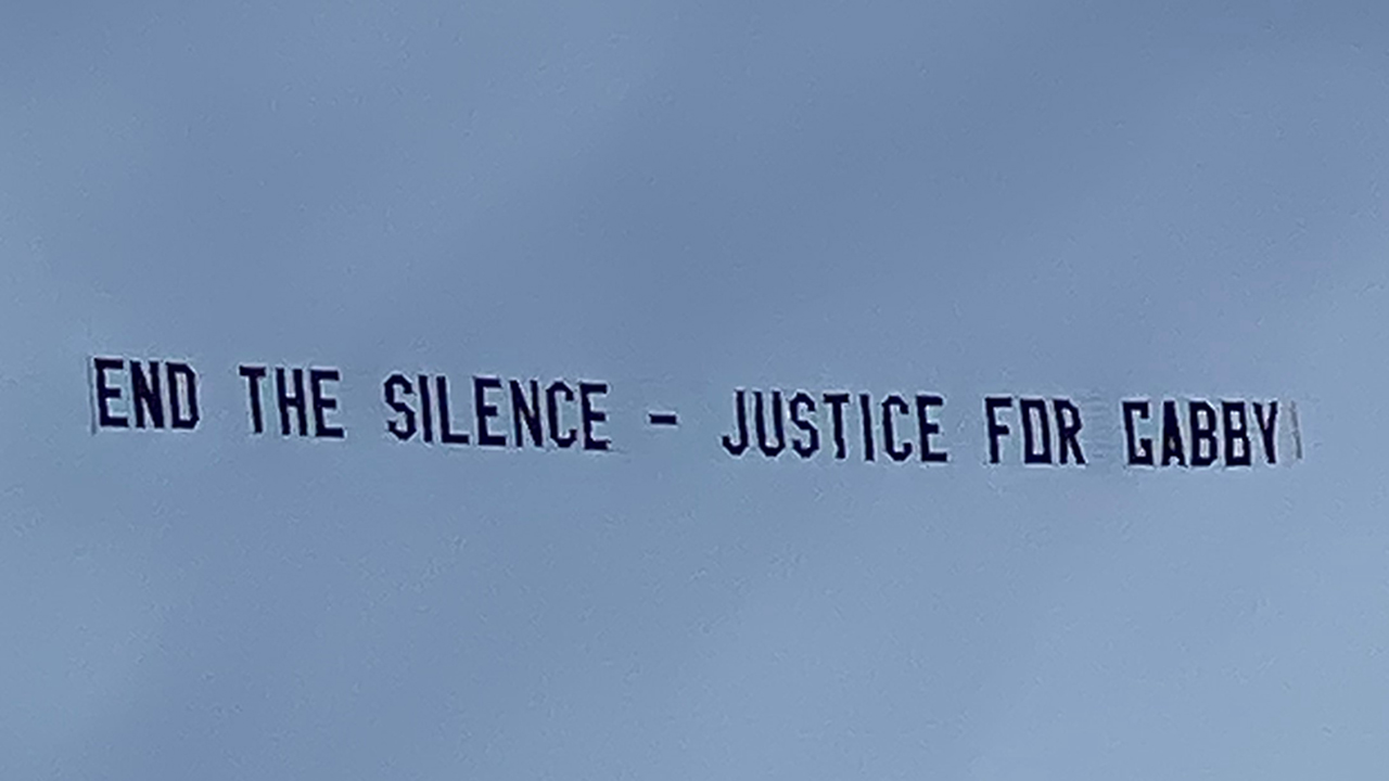 TikToker raises funds from followers to fly banners over Brian Laundrie's home