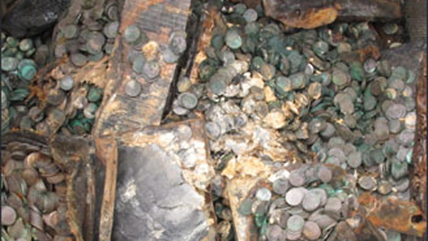 WWII wreck gives up millions in silver