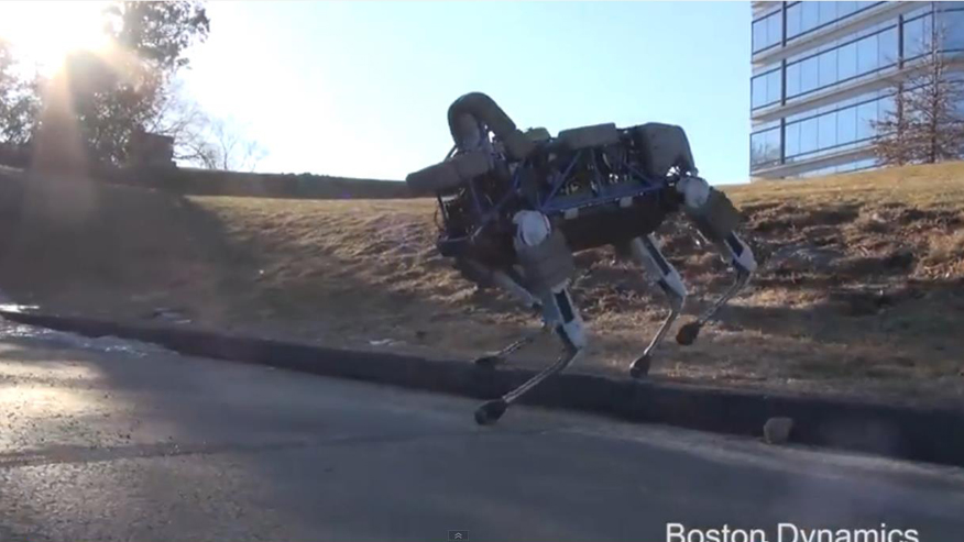 Boston Dynamics' robotic dog is going through basic training with the Marine Corps