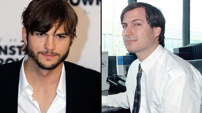 Ashton Kutcher Steve Jobs Split AP