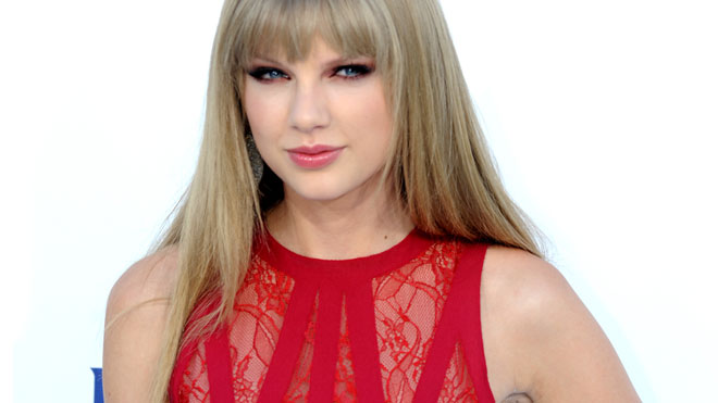 May 20: Taylor Swift at the Billboard Music Awards.AP 									 								 				 						 						 				 		  	Taylor Swift offered condolences to the family of a marine killed in action by sending flowers to