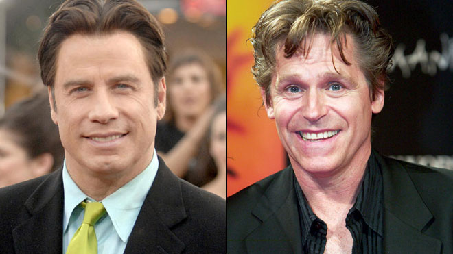 John Travolta (left) is accused of trying to engage in a sex act with his ...