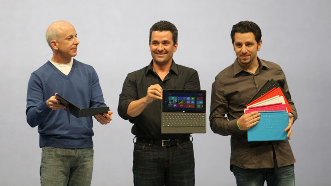 Microsoft Surface Tablet Unveiled