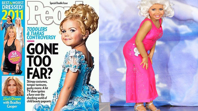 05cf539558a3 Custody at Risk After 'Toddlers & Tiaras' Star Wears Controversial ...