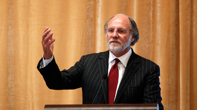 Jon Corzine, MF Global Holdings CEO