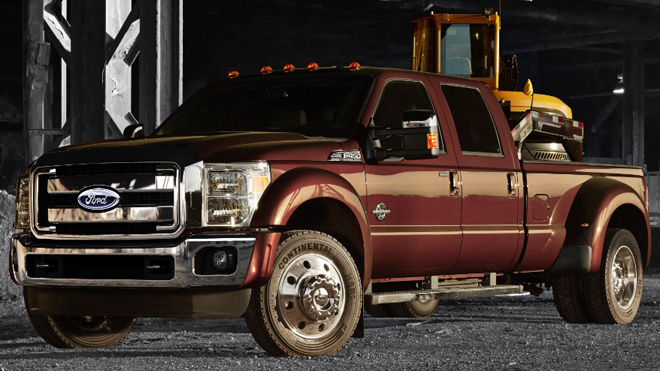 Ford unveils 2015 F-Series Super Duty pickups, new diesel engine