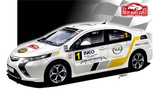 Gm Turns The Chevy Volt Opel Ampera Into A Race Car