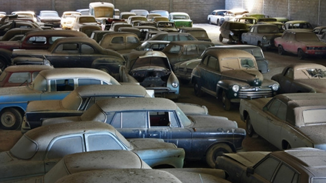 Vintage & Classic Car Barn Find Stories.