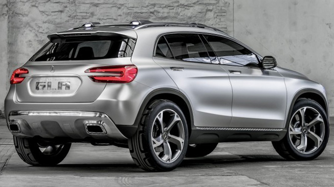 mercedes benz concept gla features laser headlights 3d camera car and truck enthusiast. Black Bedroom Furniture Sets. Home Design Ideas