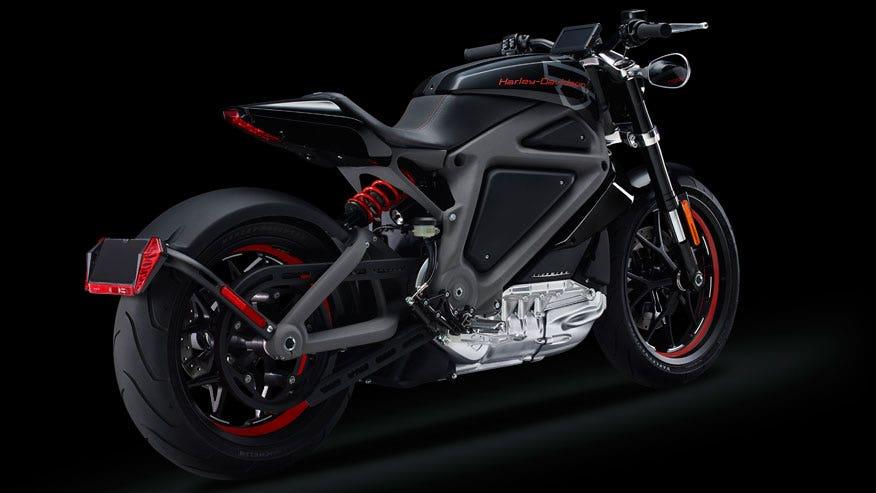 Bikes Harleys harley livewire rear jpg