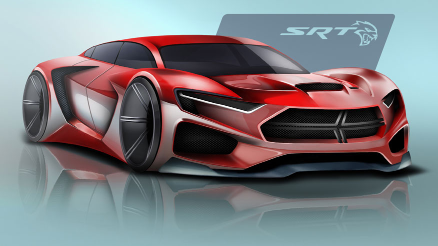 Dodge Hellcat Of The Future Envisioned