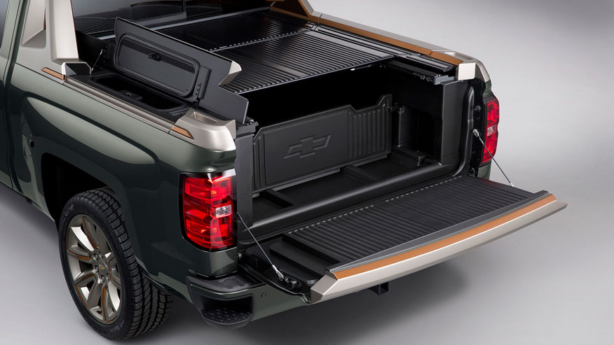 Chevrolet High Desert pickup showcases configurable bed concept | Fox ...