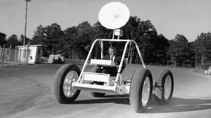 Long-lost Apollo Lunar Roving Vehicle prototype saved by scrap dealer
