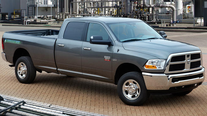 Chrysler to sell natural gas-powered truck