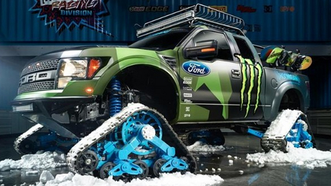 Ford F 150 RaptorTRAX By Hoonigan Racing Drive Away 2Day