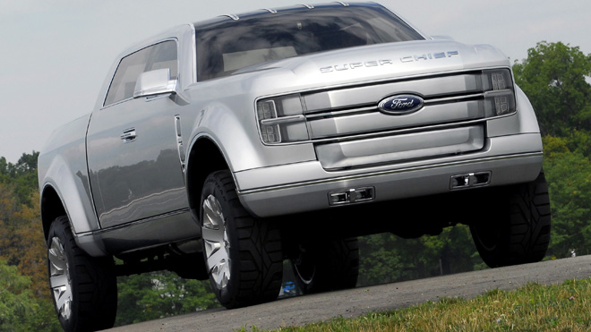 2006 ford f 250 super chief concept ford