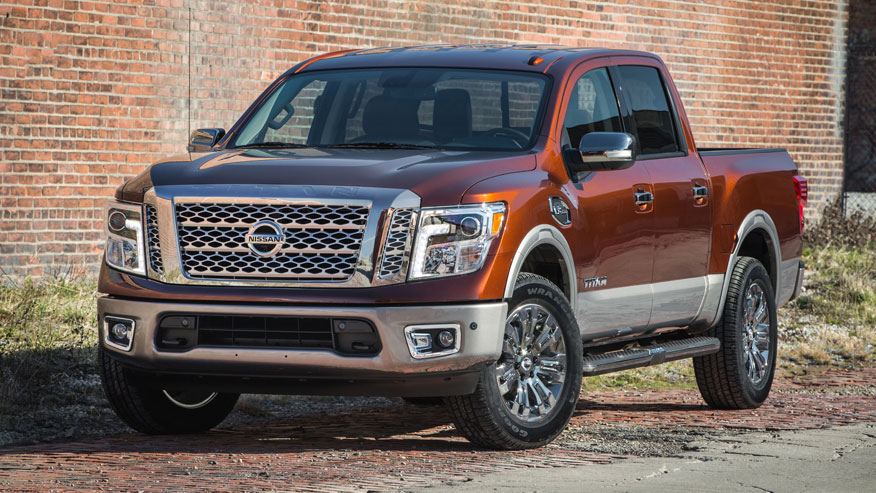 Nissan unveils new gas V8 for half-ton and Titan XD
